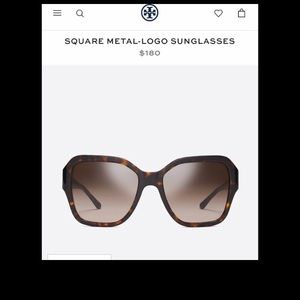Tory Burch Sunglasses NWT $180